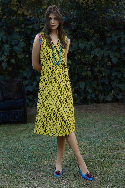 Penelopeia wrap dress