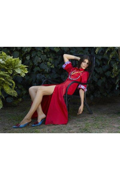 Polynoe maxi dress