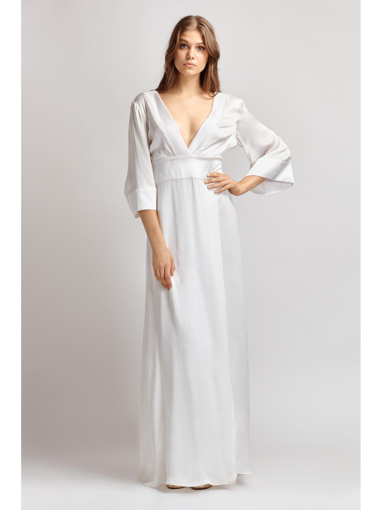 Nereid dress in silk