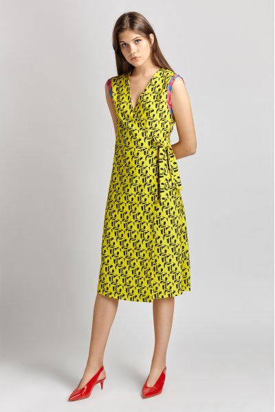 Penelopeia wrap dress