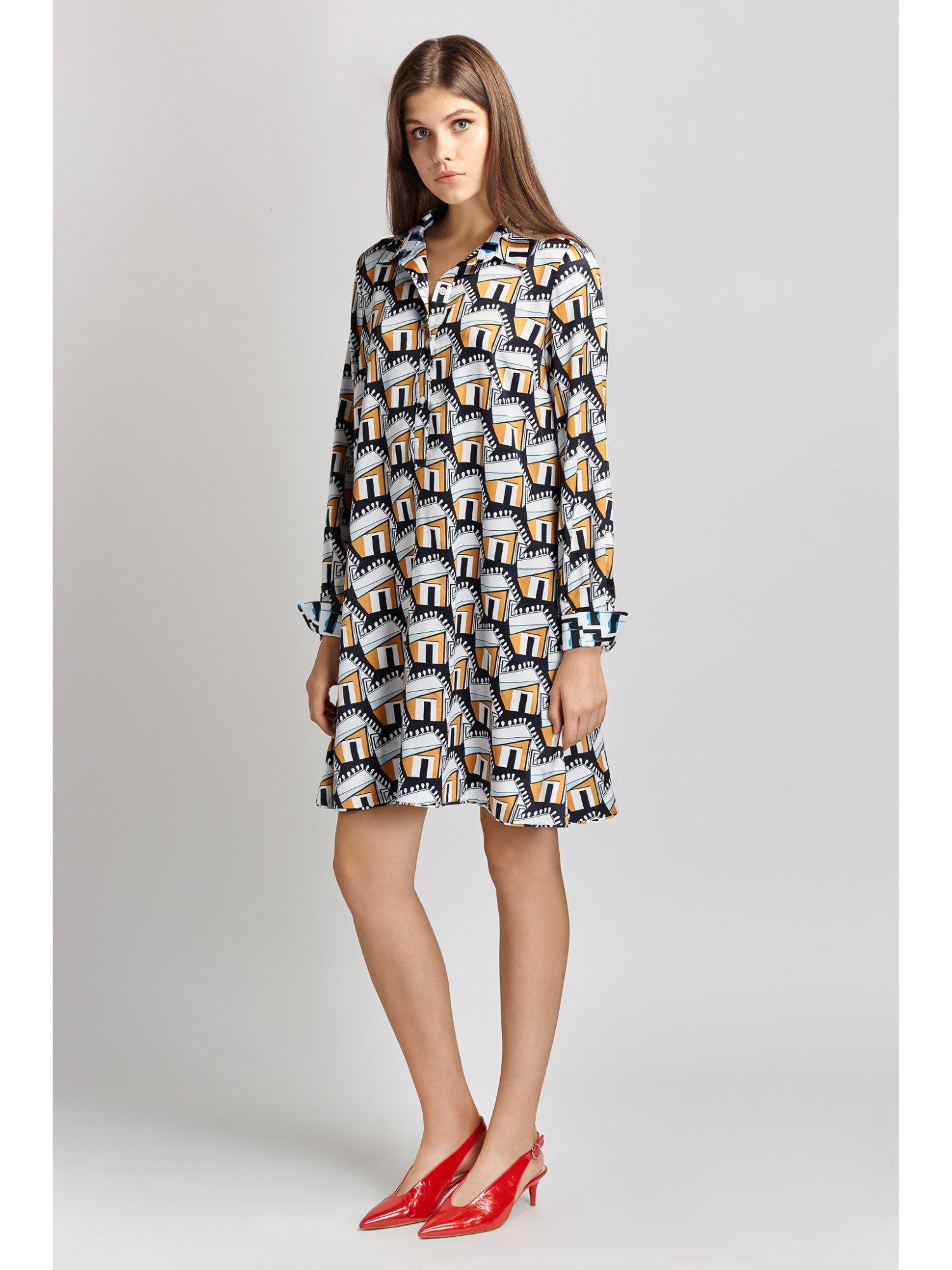 Penelopeia shirt dress