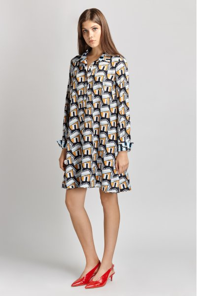 Penelopeia shirt dress