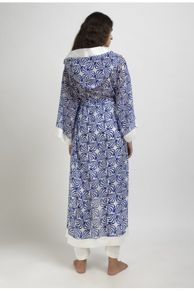 Kyvele hooded kaftan