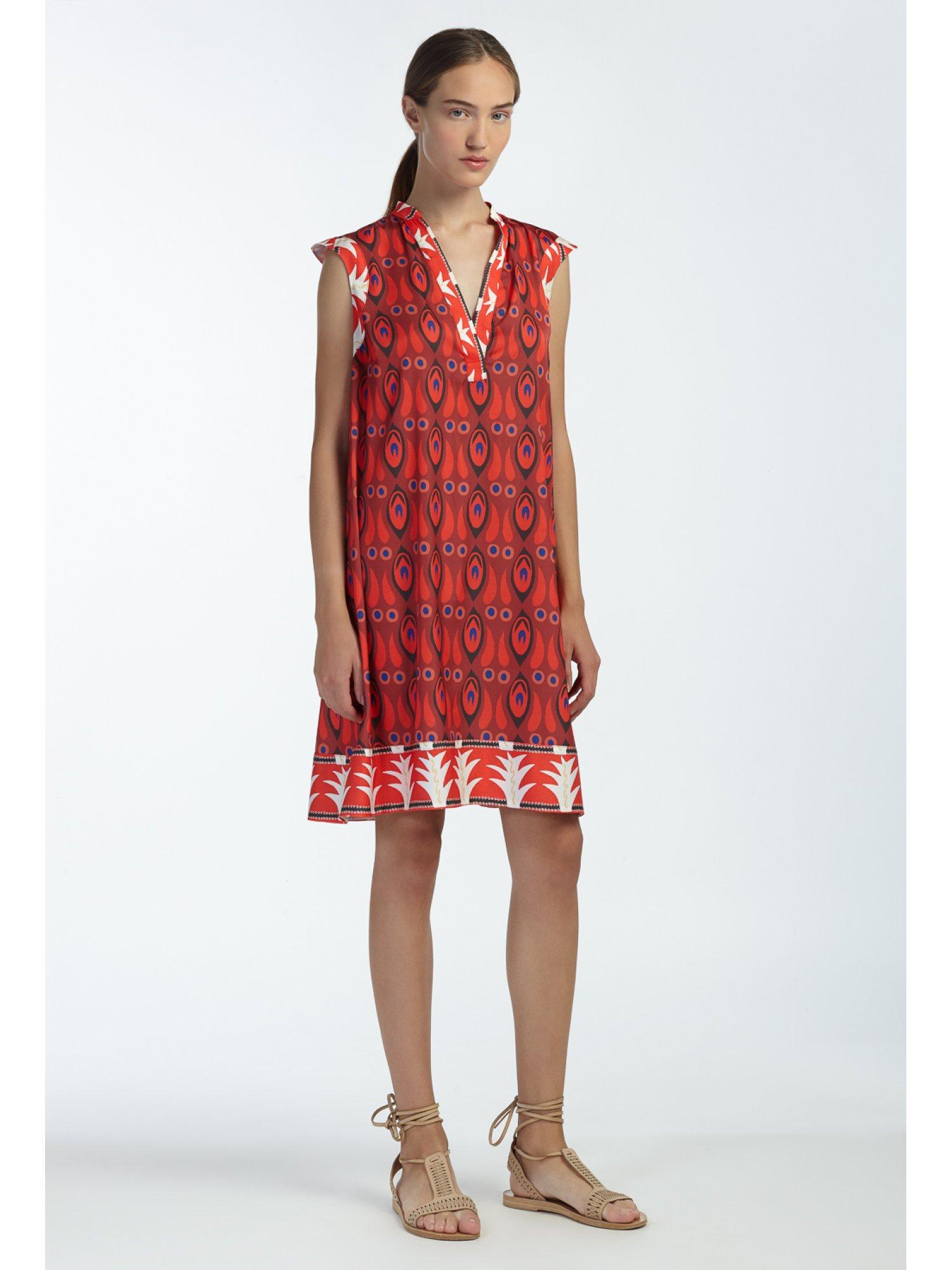 LEUKIPPE DRESS