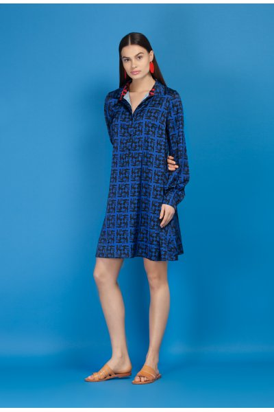 Octave shirt dress