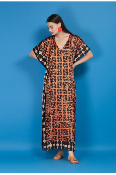 Chimaira kaftan dress