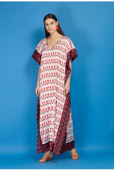 Chimaira kaftan dress