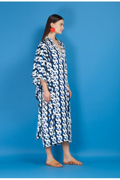 Guitar kaftan dress
