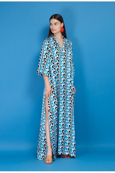 Violin kaftan dress