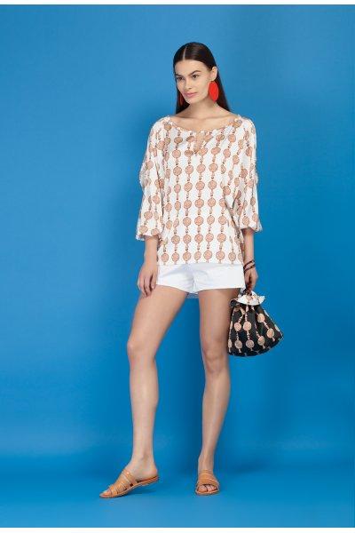 Lustre blouse