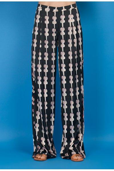 Diastem pants in print